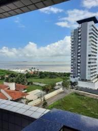 Flat com 1 dormitório para alugar por R$ 1.228/mês - Ponta D Areia - São Luís/MA