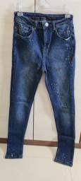 Calça jeans skinny fashion n.36