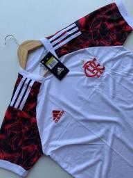 Título do anúncio: Camisa 02 do Flamengo  DRYFIT 1° Linha Nacional