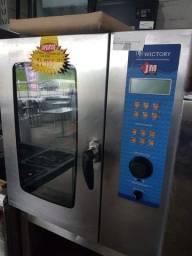 Título do anúncio: G forno combinado 8 gns seminovo estado de zero barato chama no whats
