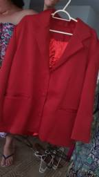 Blezer vermelho
