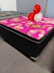 Título do anúncio: cama casal box --*-*+-*-/*-*-