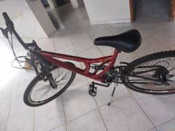 Vendo bicicleta aro 26 está em perfeito estado