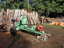 Rachador de lenha madeira tora vários modelos com motor elétrico trator tomada de força