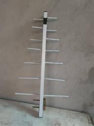 Antena de alumínio pra tv digital