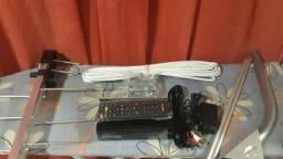 Antena digital com convesor