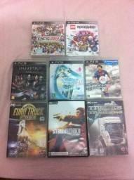 Jogos de PS3 e PC