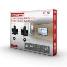 Suporte Tv Lcd/led/plasma Fixo 10 A 85 Universal Sbru758 Brasforma