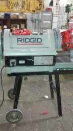 Rosqueadeira Elétrica Ridgid Mod. 1224, de 1/2 -4 polegadas, seminova
