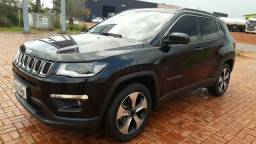 Jeep compass longitude 2.0 4x2 flex at 17-18 preta - 2018