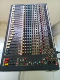 Mesa soundcraft 24 canais zerada