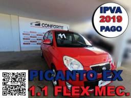 Kia picanto 2011 1.0 ex 12v flex 4p manual - 2011