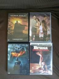 Lote de DVD's novos e usados (juntos ou separados)