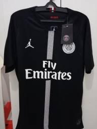 Camisa PSG 18/19 Nike parceria com a Jordan