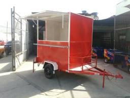 Food trailer reboques Aliança