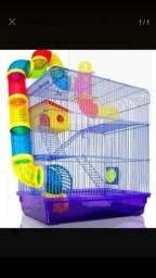 Gaiola hamster 3 andares.produto nova