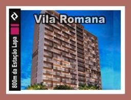Apartamento na Vila Romana, na rua da estação e Shopping Bourbon