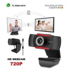 Câmara Usb 720p Webcam  Astrum c Microfone wm720 video aula live