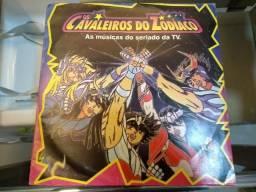 Disco de Vinil Cavaleiros do Zodíaco