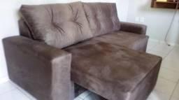 Imperdivel!Sofá Retrátil 2,00m,2 Módulos,Conforto e Qualidade,Na Sua Casa com Frete Grátis