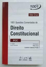 Livro 1001 questões Direito Constitucional novo