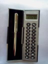 Colecionador Calculadora diferente com caixinha veja foto raridade mini hobbie