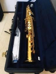 Sax Soprano Yamaha 82 ZR Custom Japan (novo)
