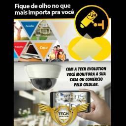 Segurança em sua casa com cameras de segurança,sistema de alarme