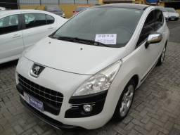 Peugeot 3008 2014 Griffe THP Automático Teto Couro GPS Abs 6 Air Bags Impecável