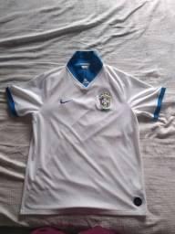 camisa seleção brasileira usada só duas vezes