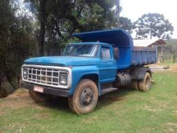 Caminhão 1989 azul