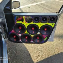 Alto falante midbass 6 Xtreme áudio 250rms melhor q zetta snake