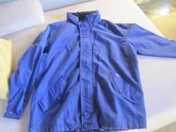 Título do anúncio: jaqueta poliester com capuz  excelente para chuva impermeável
