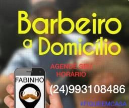 Título do anúncio: BARBEIRO À DOMICÍLIO EM VASSOURAS  RJ