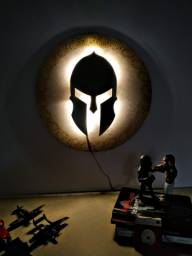 Luminária Guerreiro Espartano