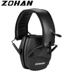 Abafador Eletrônico Protetor Zohan Tiro Esportivo Com Case
