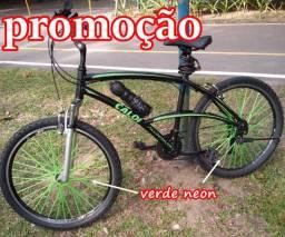 capa de bicicleta verde neon