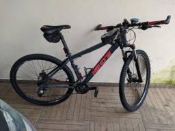 Título do anúncio: Bike Bicicleta high hone 17 Cubo Cassete sunrace 9v,  Kit   3x9v, Pneu Pirelli novos