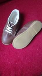 Título do anúncio: Sapato social - marca Pimpolho - usado 1 vez apenas