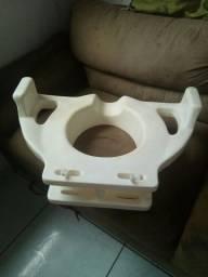 Assento p/ bacia sanitária p/idoso