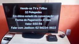 Título do anúncio: TV e TV box
