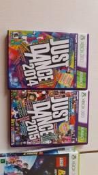 Título do anúncio: Jogo Just Dance 2014 e Just Dance 2015 originais para Xbox 360