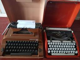 Maquina de escrever antiga
