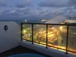 Título do anúncio: Alugo Flat todo mobiliado com piscina privativa na beira mar de Manaíra