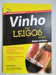 Livro Vinho para Leigos / edição de bolso