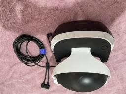 Óculos realidade virtual PS4 mais dois jogos... Novinho usado poucas vezes!