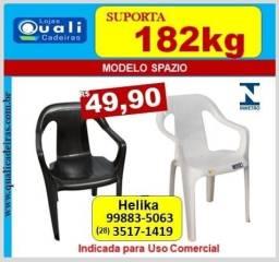 Título do anúncio: Poltrona Spazio uso Comercial suporta 182kg