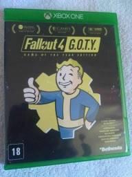 Jogo Xbox One Fallout 4 G.O.T.Y Mídia Física