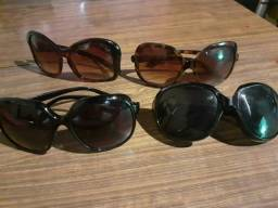 Óculos de sol  20 reais cada um