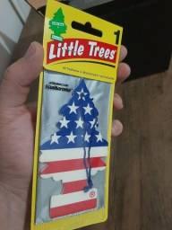 Título do anúncio: Aromatizante Little Trees - Vanilla Pride ou Black ice Original USA